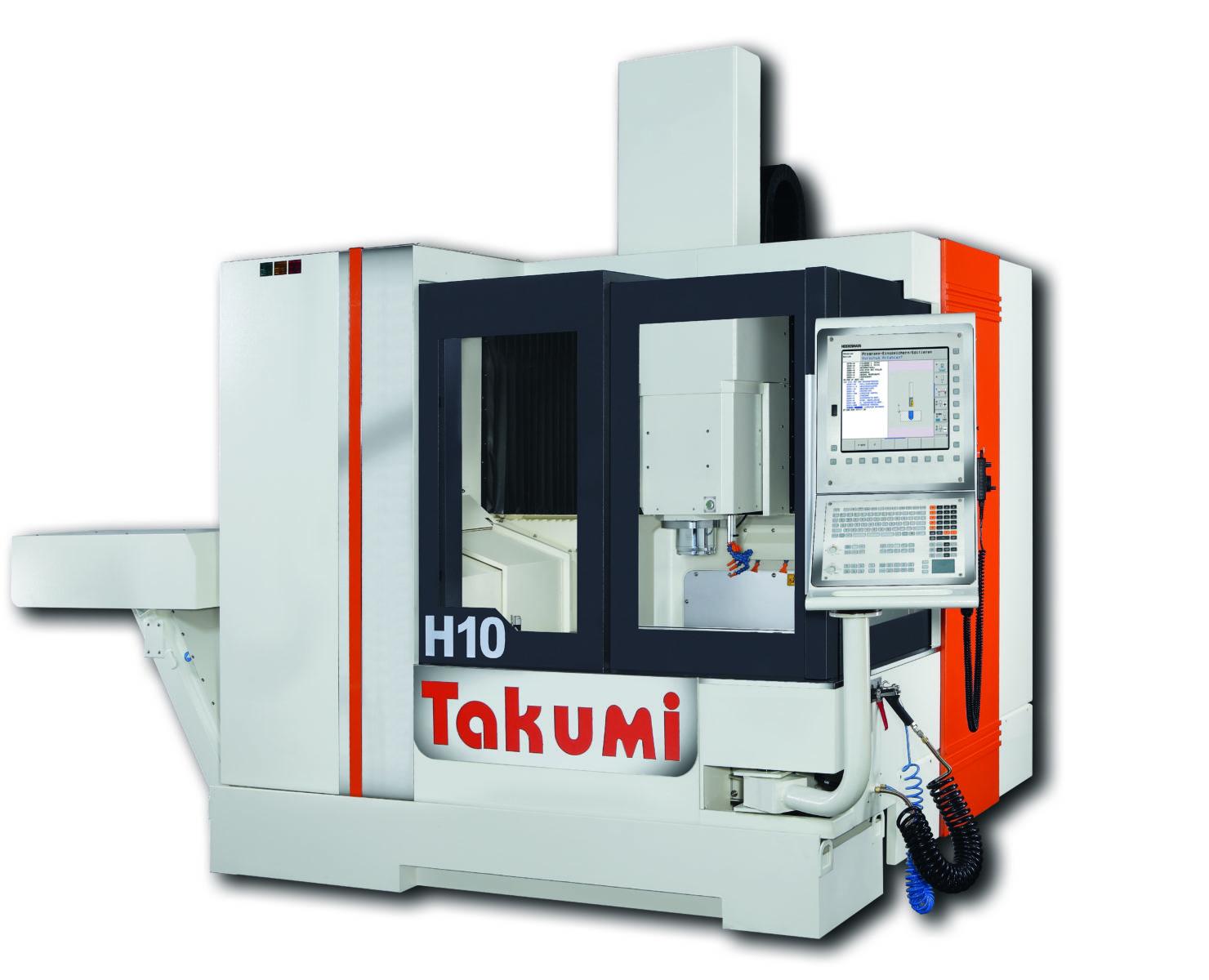 Takumi H10: 3-assig bewerkingscentrum met Heidenhain Control for Die & Mold