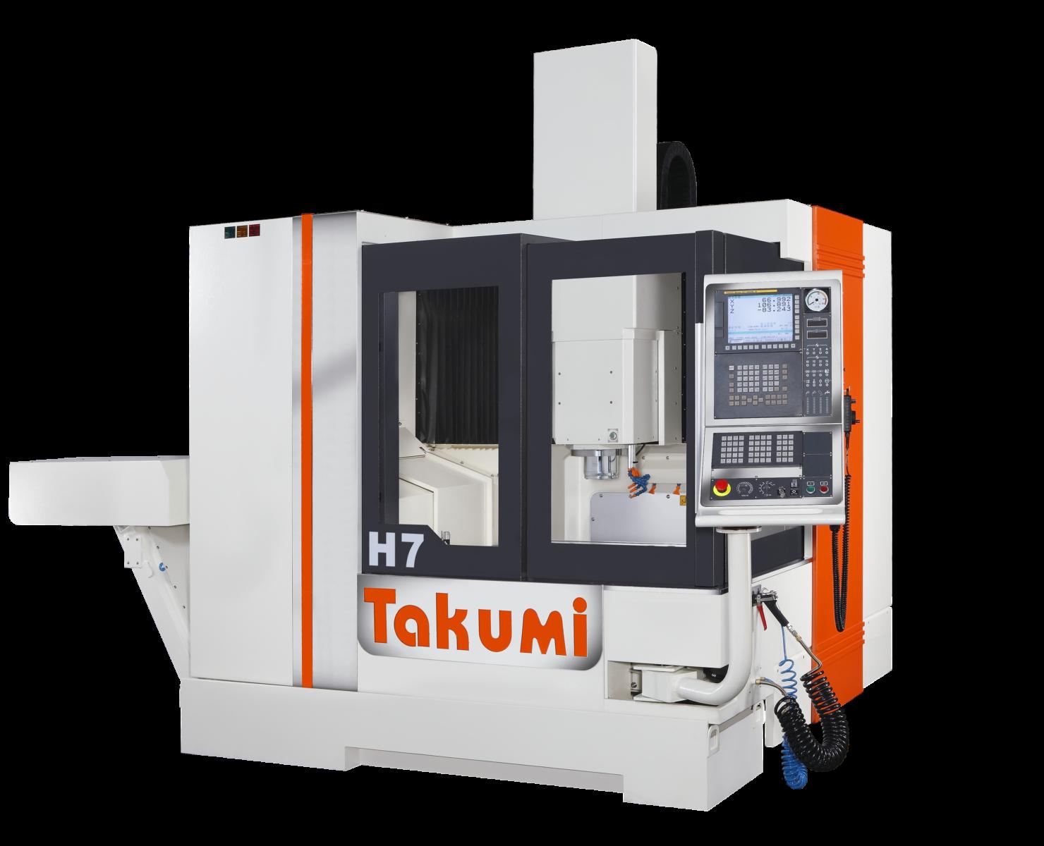 Takumi H7: 3-assig bewerkingscentrum met Heidenhain-regeling voor matrijzen en mallen.